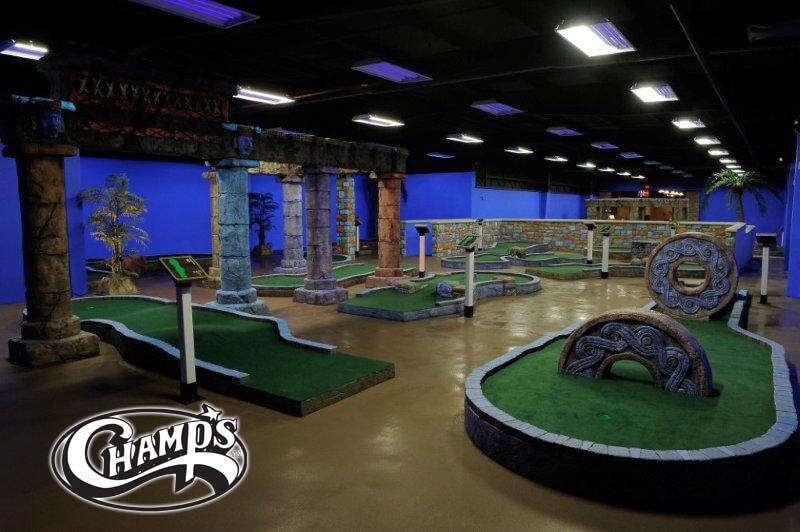 Champs Entertainment Complex Lexington Miniature Golf