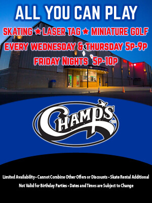 Champs Entertainment Complex All You Can Play Champs